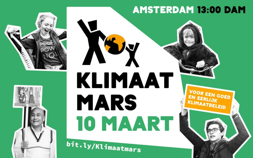 Doe mee aan Klimaatmars 10 maart