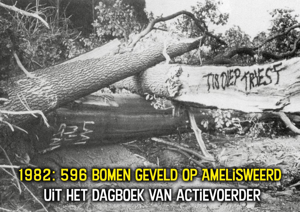 Dagboek actievoerder Amelisweerd 1982