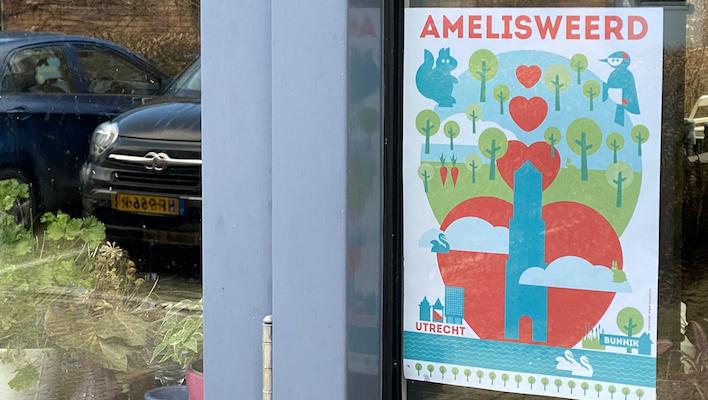 poster utrecht loves amelisweerd cbk
