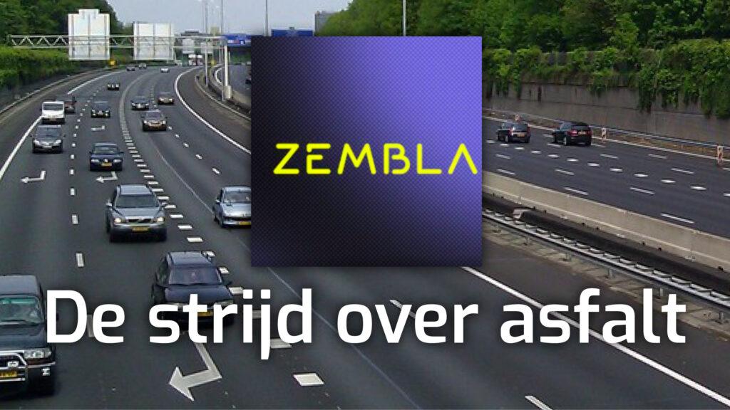 media zembla de strijd over asfalt amelisweerd