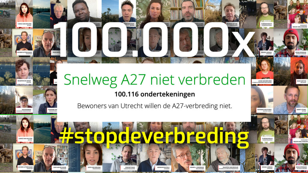 petitie 100.000 #stopdeverbreding