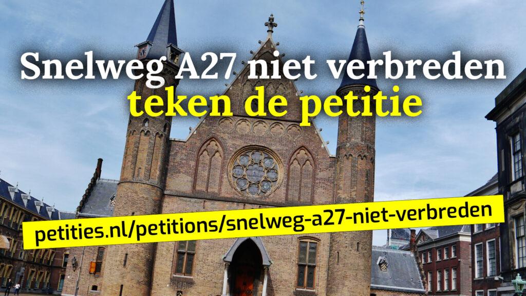 teken de petitie den haag