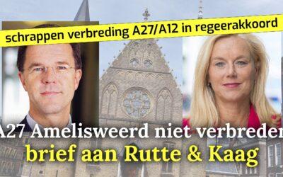 Brief KRU aan Rutte & Kaag